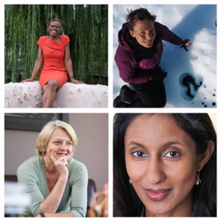 UCL women academics