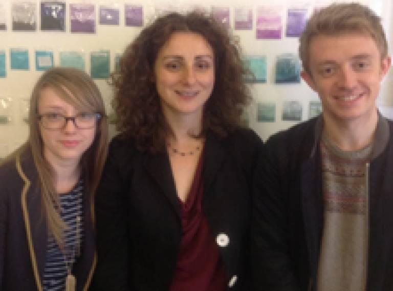 James Mackie, Laura Cream, Rachel Leighton