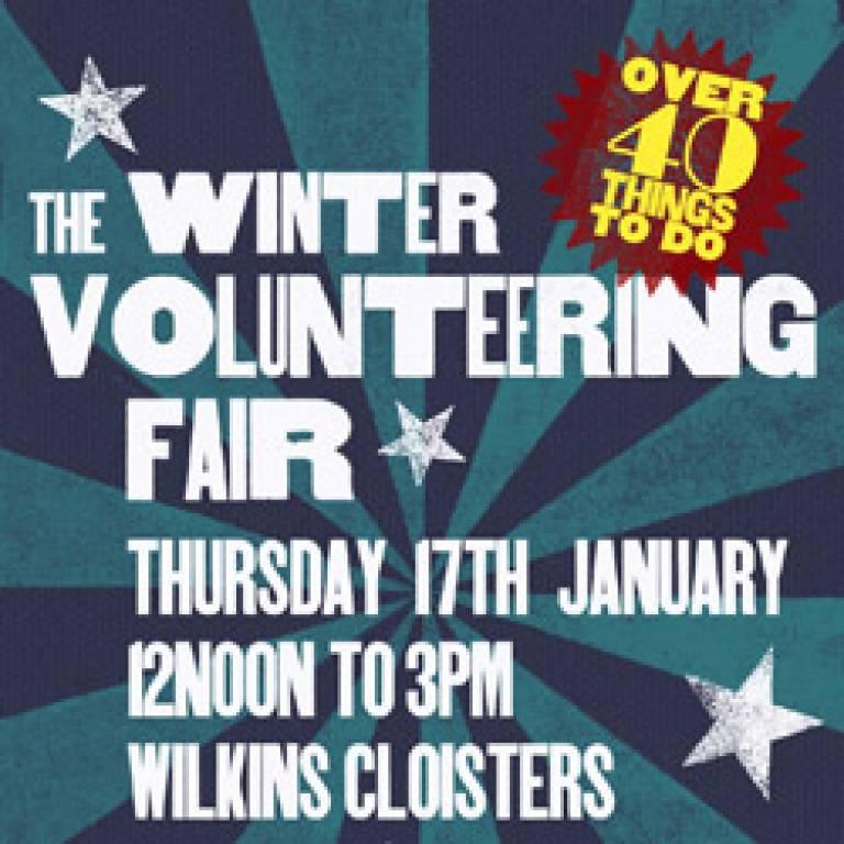 Winter Volunteering Fair square