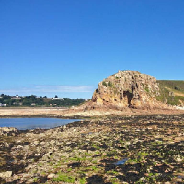 La Cotte Site Low Tide