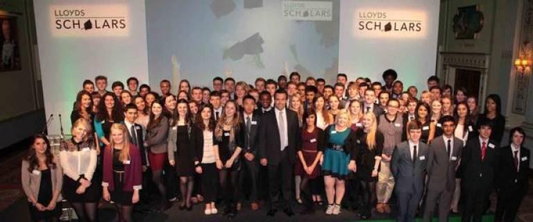 Lloyds Scholars cropped