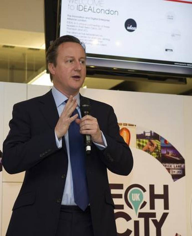 The Prime Minister opens IDEALondon