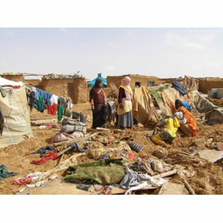 Refugees in Western Sahara (from Saharauiak on Flickr)