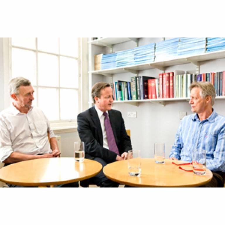 David Cameron at the IoN