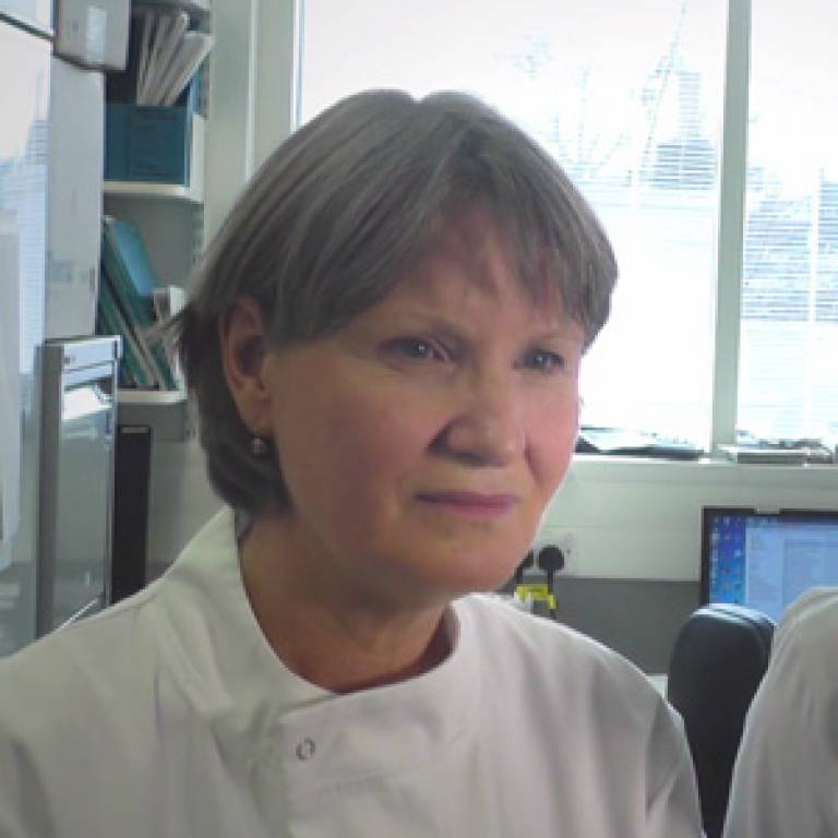 Professor Sibylle Mittnacht interviewed by Clare Hastings at The Institute of Cancer Research, London