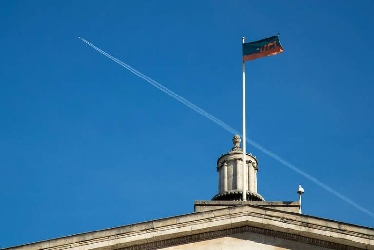 Flag Portico UCL