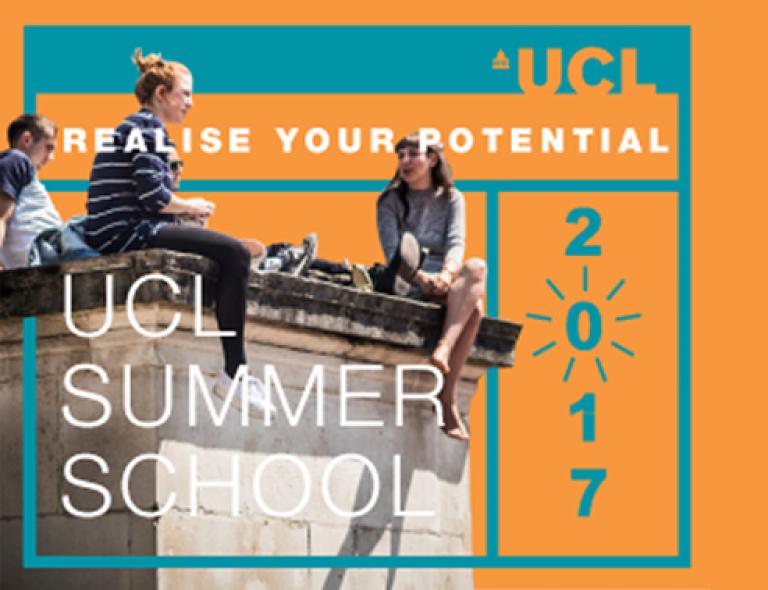 UCL Summer School 2017