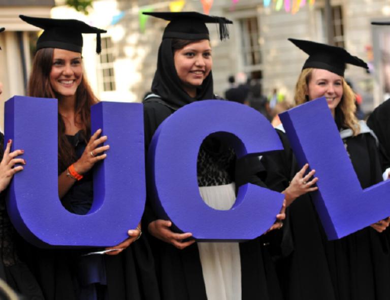 UCL graduation ceremonies staff