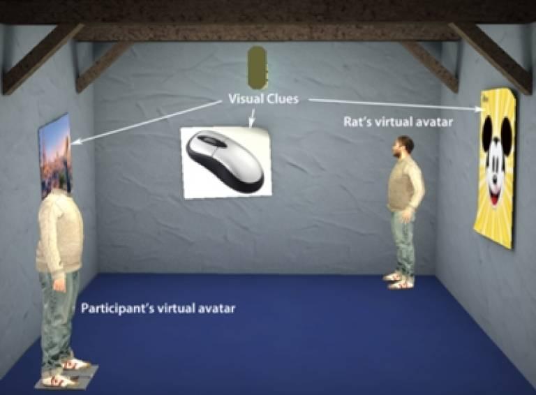 Virtual reality scene