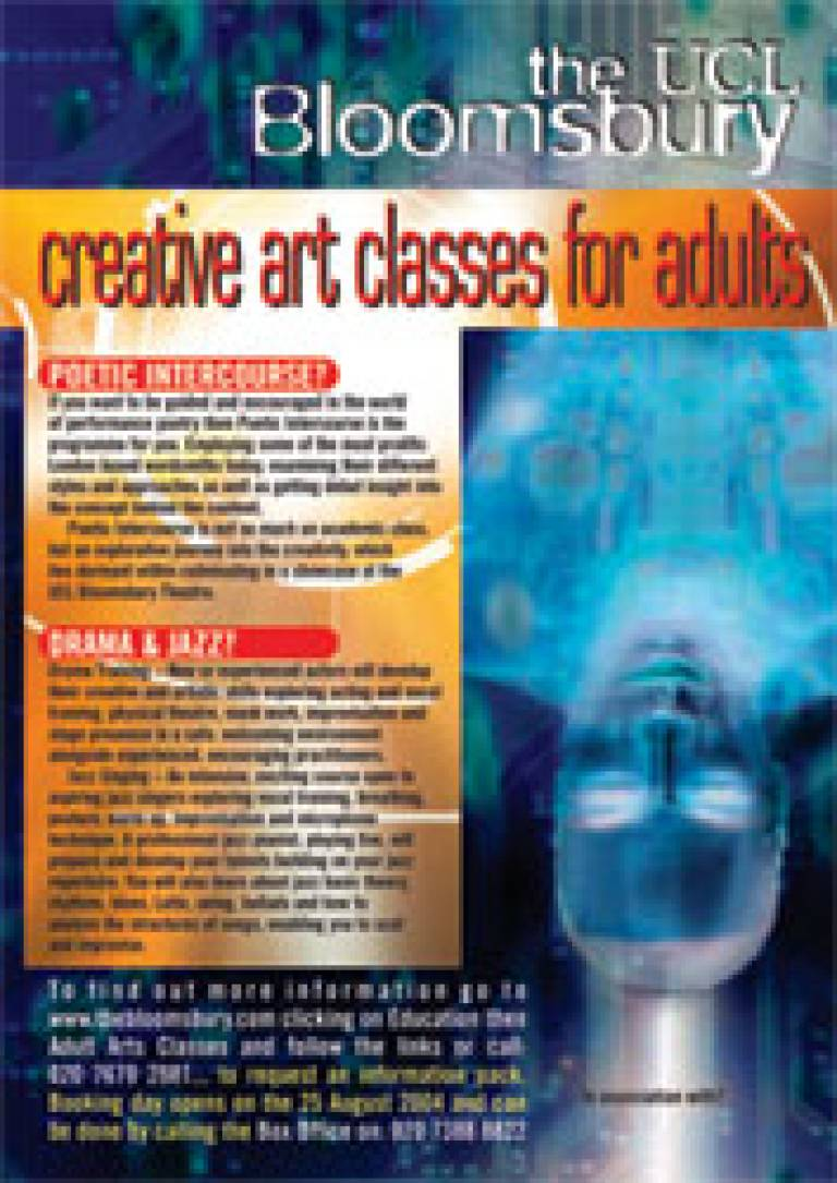 Creative art classes for adults
