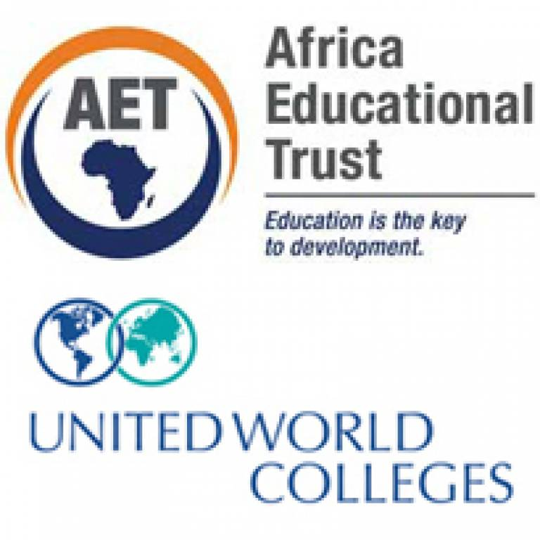 Africa Educational Trust and United World Colleges logos