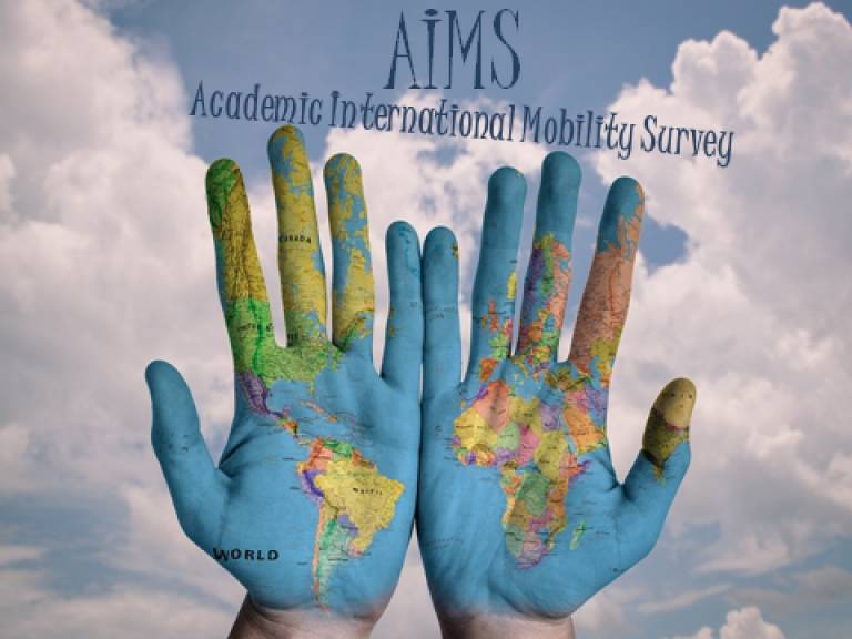 Are you an international postgraduate student or an academic staff member? You can take part in AIMS