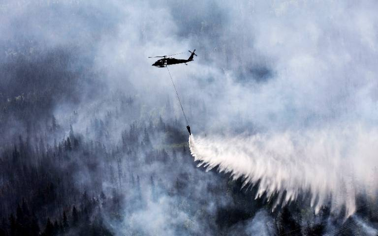 Alaska fire fighting