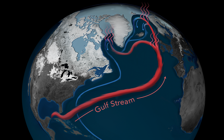 an image of the Gulf Stream (AMOC)