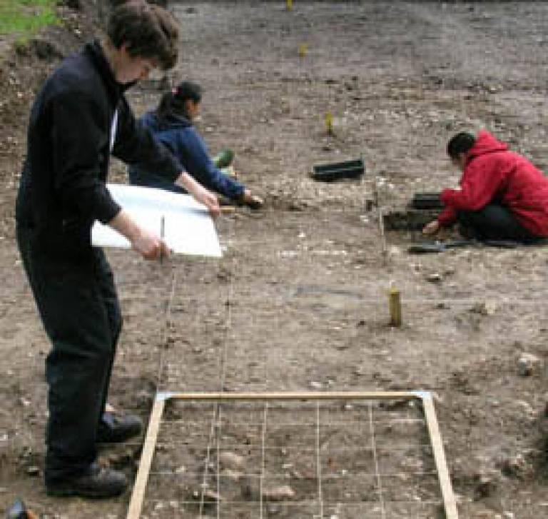 Excavating Batten Hangar Roman Villa