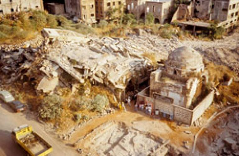Excavations in 1994 Beirut