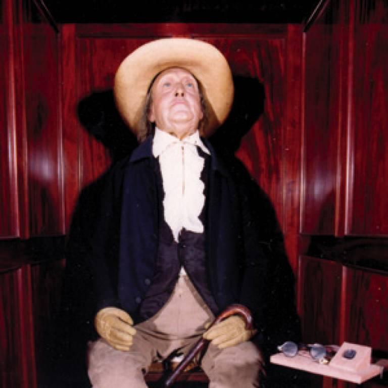 Jeremy Bentham's 'auto-icon'