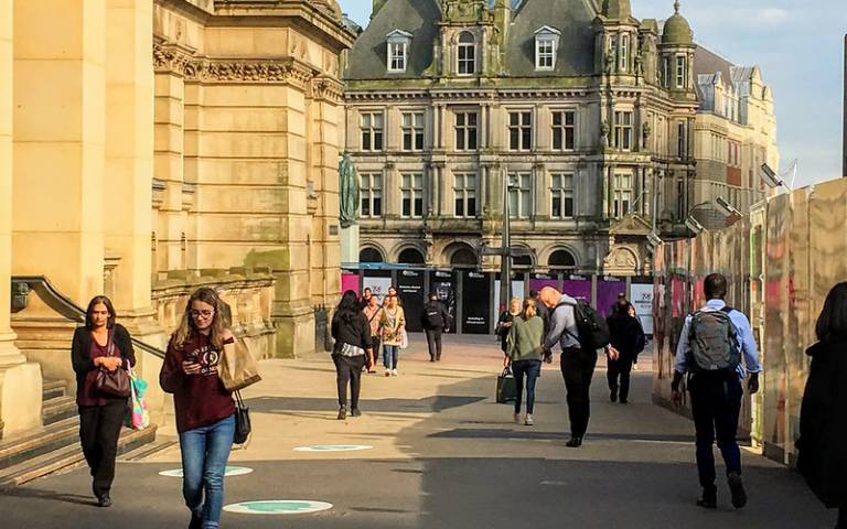 Street scene in Birmingham