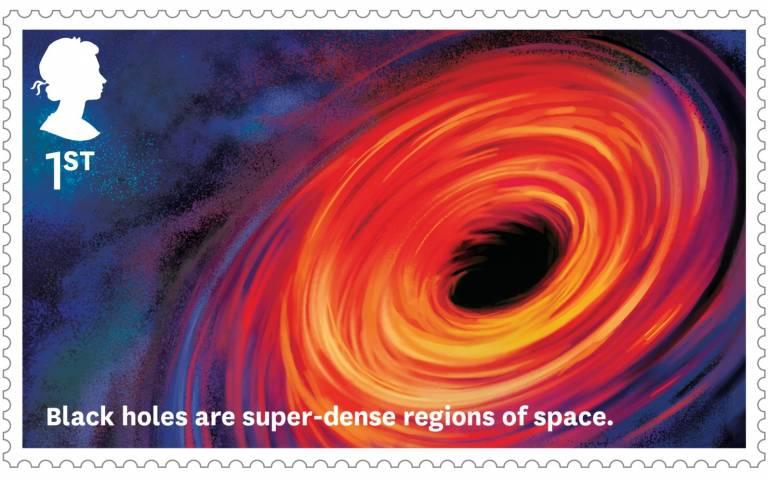 black hole stamp