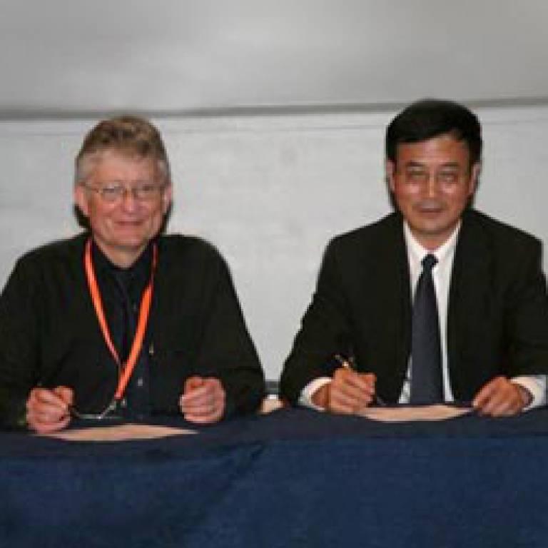Professors Brown and Gu
