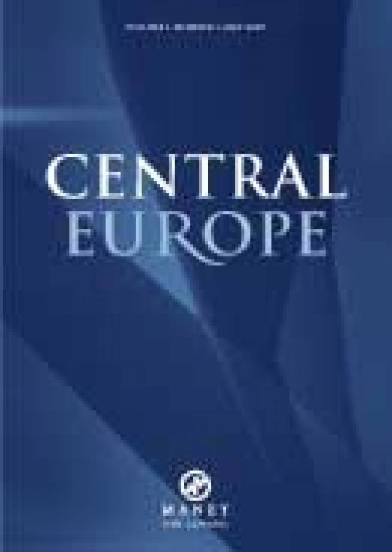 The 'Central Europe' journal
