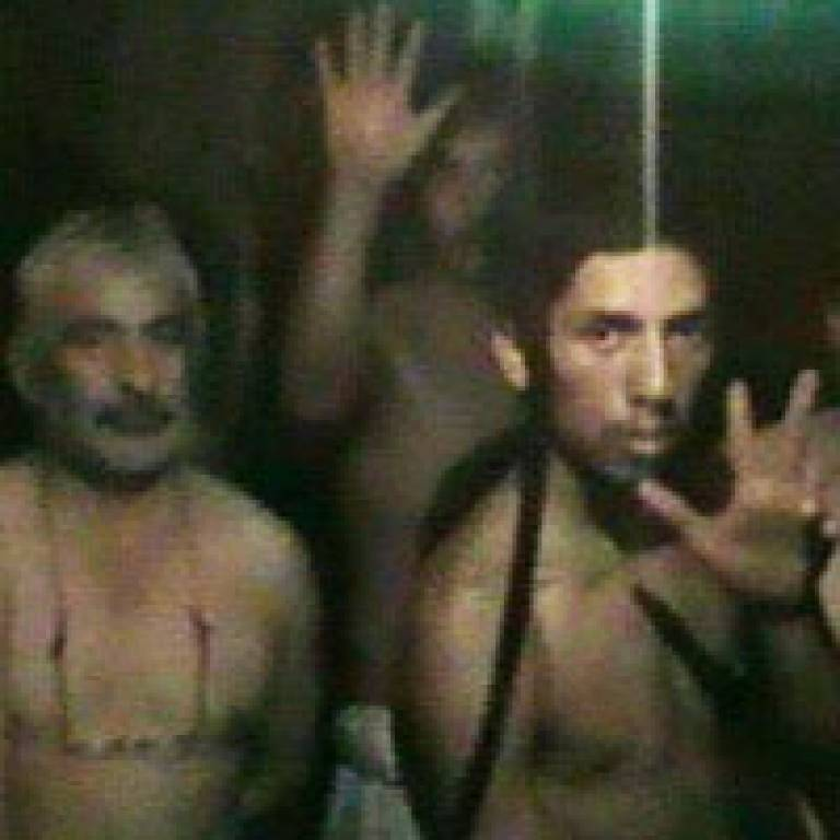 The trapped Chilean miners