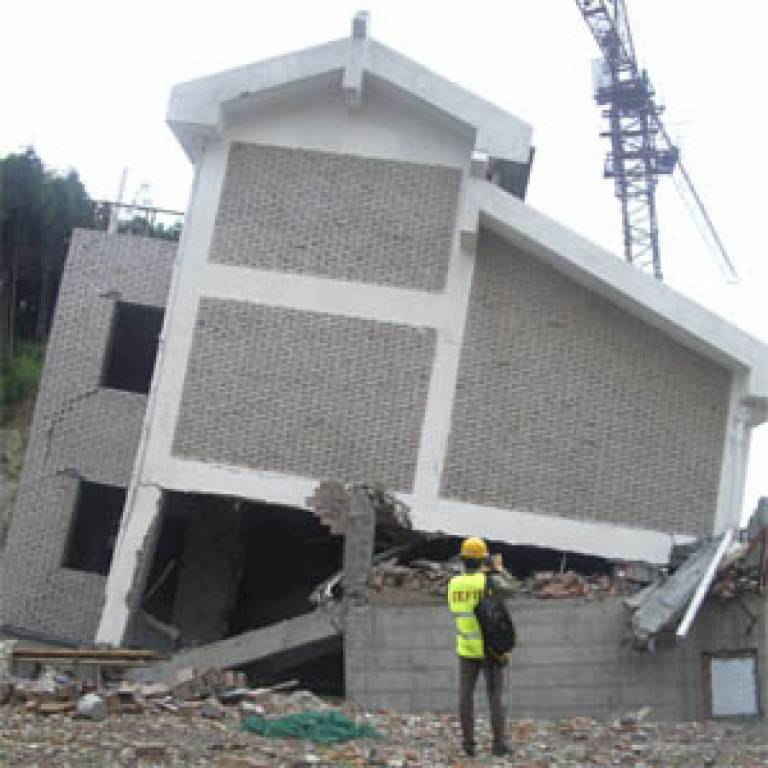 Damage caused by the Chinese earthquake