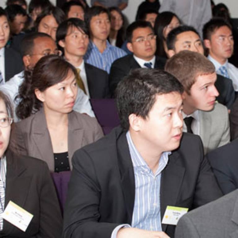 Delegates at the China UK Entrepreneurship Challenge