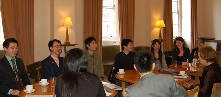 Chinese media visit