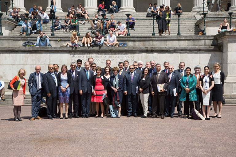 Top CEOs from the Confederation of Indian Industry visit UCL