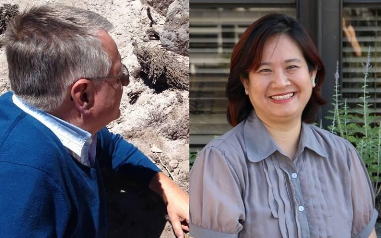 Professor Lynn Ang and Professor Michael Heinrich