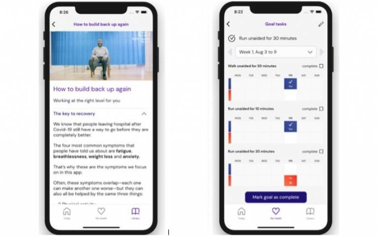 Rehabilitation app helps COVID-19 patients recover at home