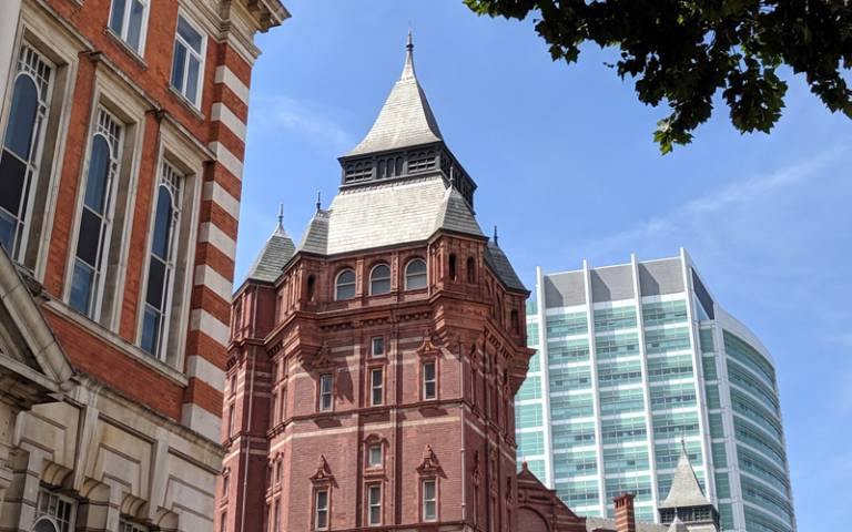 UCL's Cruciform Building