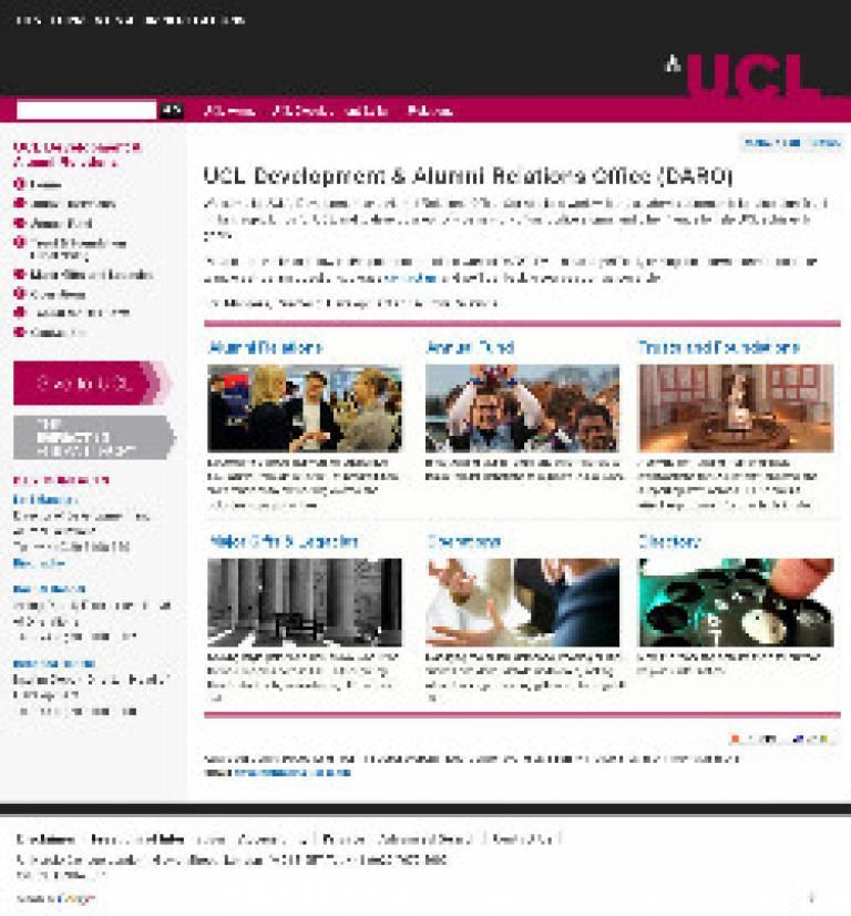 DARO website