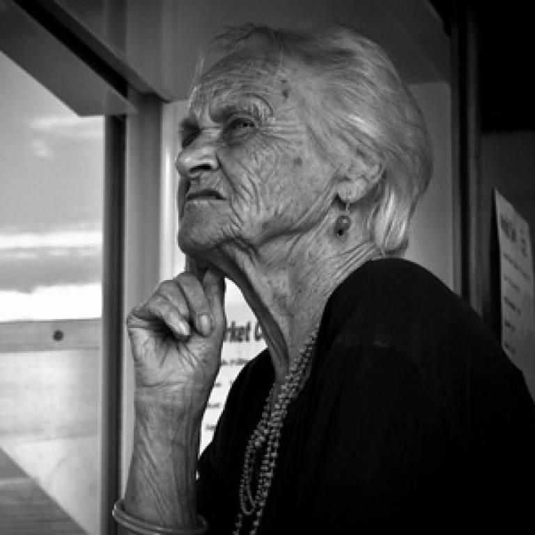 Dementia patient