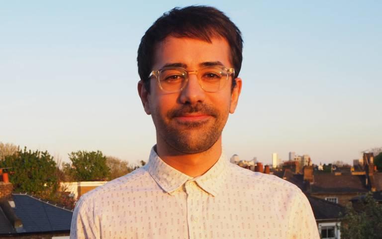 PhD researcher Diego Rodriguez