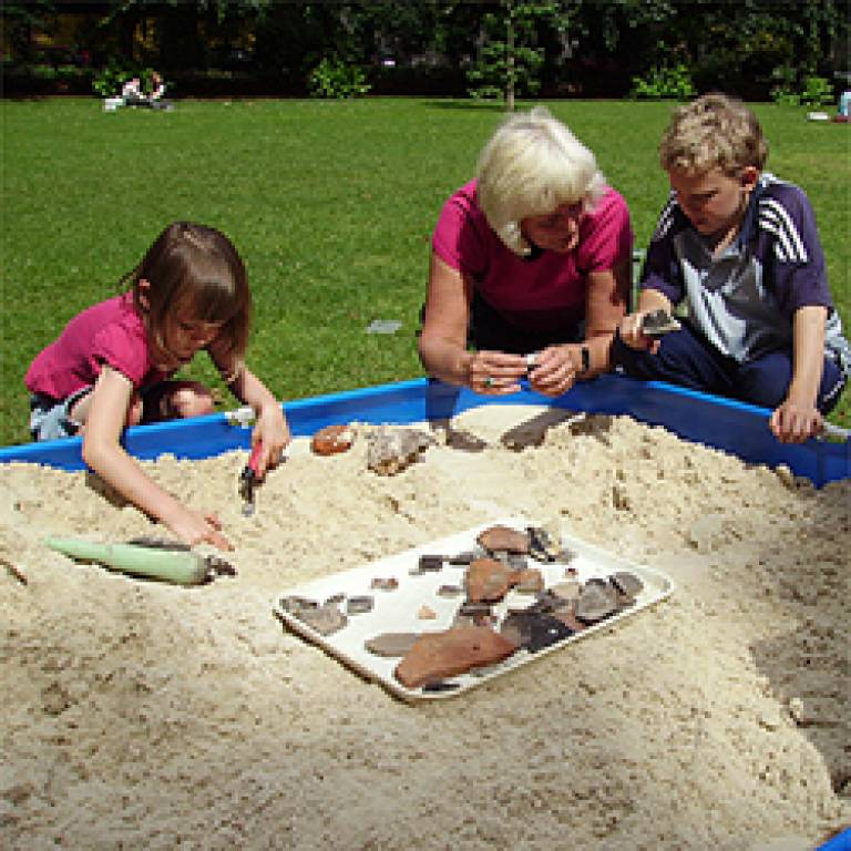 sandpit archaeology