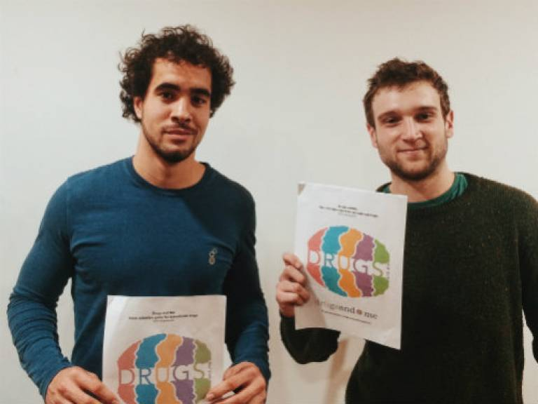 An independent drugs harm reduction website founded by UCL students is winning support from leading drug policy experts and campaigners