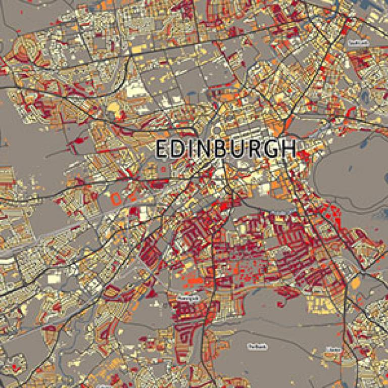 How people travel to work or study in Edinburgh
