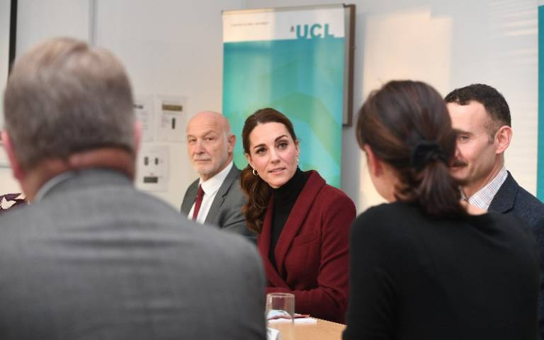 The Duchess of Cambridge at UCL