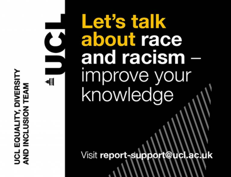 Let's talk about race and racism