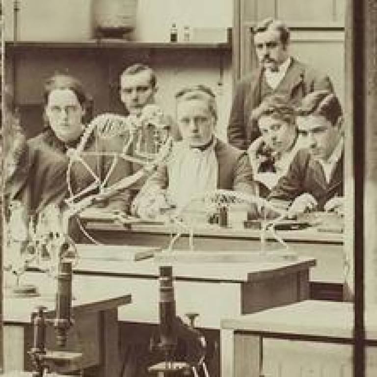 Early Bloomsbury scientists