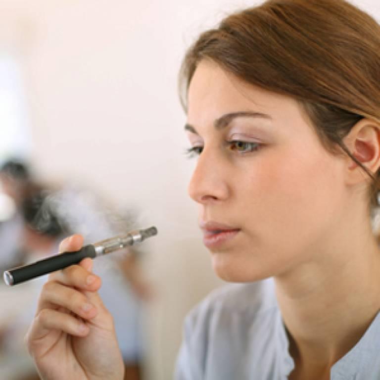 E-cigarette user