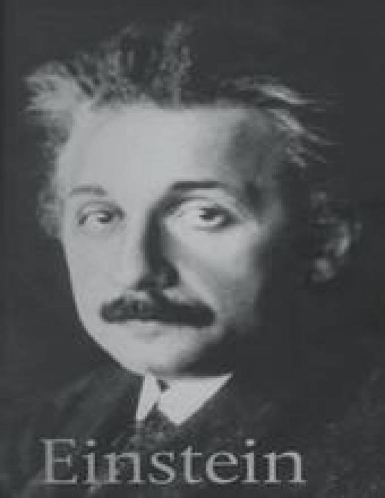 A copy of Dr Peter Smith's book 'Einstein'