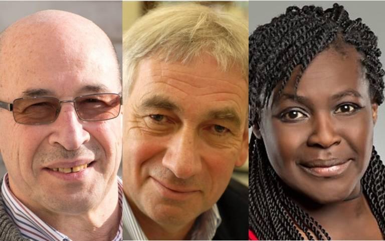 Professor Alexander Shluger, Professor Richard Ellis, Dr Maggie Aderin-Pocock
