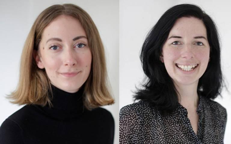 PhD researcher Emilia Smeds and Dr Jenny McArthur