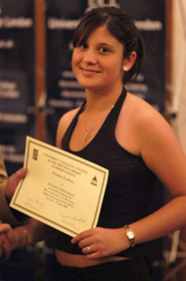 Summer school participant, Emma Lodato