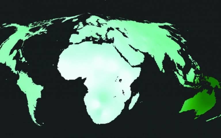 Genetic diversity map