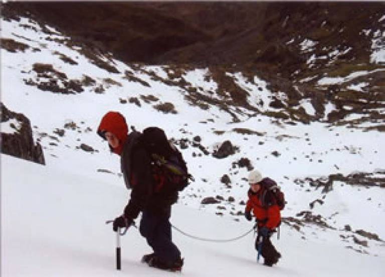Expeditions and Travel grants allow UCL students to travel to extreme environments