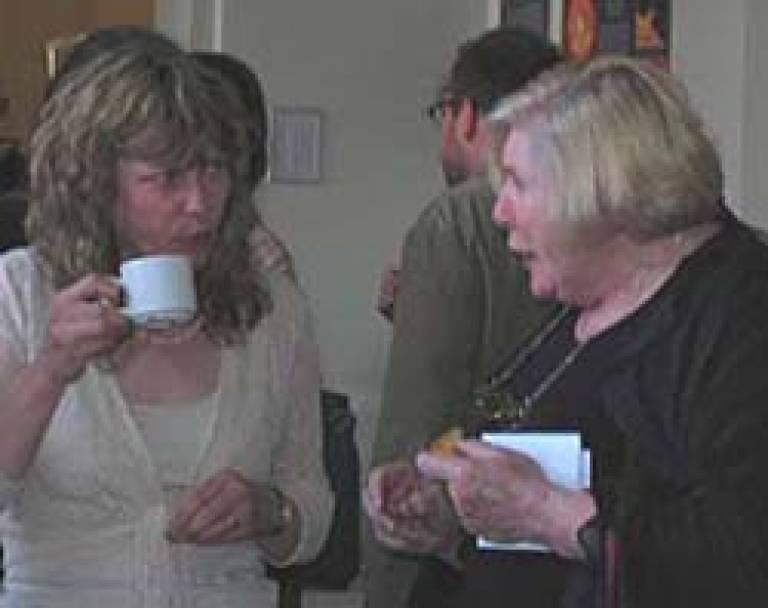 Fay Weldon in conversation
